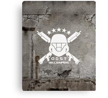ODST Helljumpers (White) Canvas Print