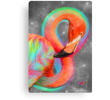 Infinite Possibilities - (Neon Infinity Flamingo) Canvas Print