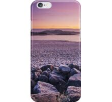 Sunrise over the frost iPhone Case/Skin