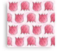 Topsy Turvy Tulips Pink Edition Canvas Print