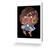 Young Avengers    Miss America Chavez Greeting Card