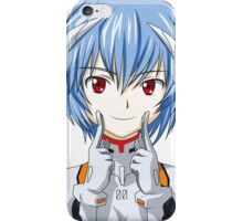 Anime Rei Smile High Resolution iPhone Case/Skin
