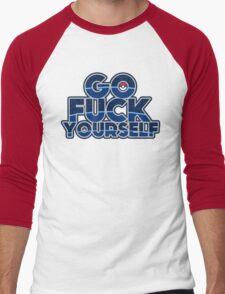 Pokemon GO FUCK YOURSELF Men's Baseball ¾ T-Shirt