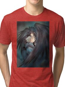 Howl and Sofie  Tri-blend T-Shirt