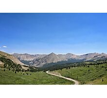 Cottonwood Pass #1 Photographic Print