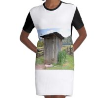 Outhouse Graphic T-Shirt Dress
