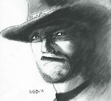 Clint Eastwood by Christopher Colletta
