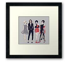 Resident Ladies Framed Print