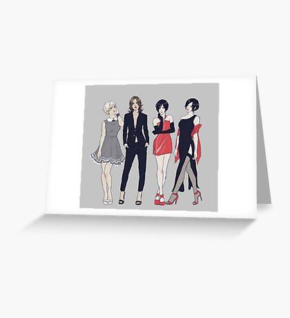 Resident Ladies Greeting Card