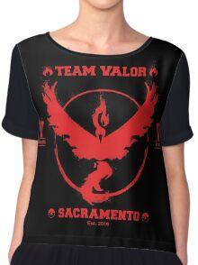 Sacramento - Team V Women's Chiffon Top