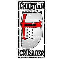 CHRISTIAN CRUSADER Photographic Print