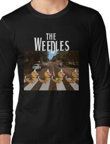 The Weedles on Abbey Road Long Sleeve T-Shirt