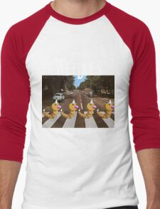 The Weedles on Abbey Road Men's Baseball ¾ T-Shirt