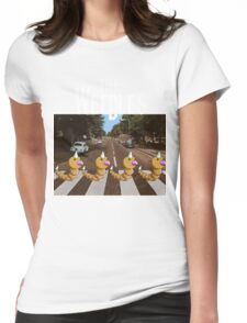 The Weedles on Abbey Road Womens Fitted T-Shirt