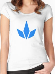 Pokemon GO - Team Mystic, Minimalistic, No Text Women's Fitted Scoop T-Shirt