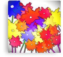 Cheery bouquet Canvas Print