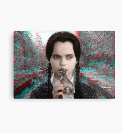 Gettin' Wednesday Wasted Canvas Print