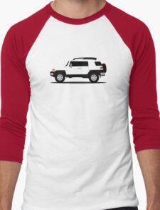 Simplistic Offroader Profile  Men's Baseball ¾ T-Shirt