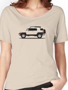 Simplistic Offroader Profile  Women's Relaxed Fit T-Shirt