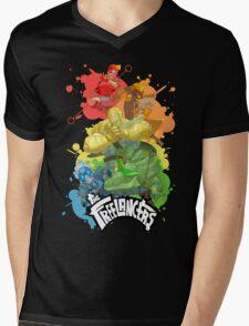Freelancers Splash Mens V-Neck T-Shirt