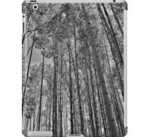 Black and White Aspens iPad Case/Skin