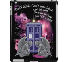 Weeping For The Tardis iPad Case/Skin