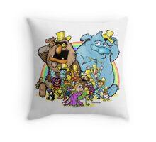Together again, AGAIN! Throw Pillow