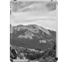 Ruby Range in Black and White iPad Case/Skin