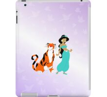 jasmine and her pal rajah iPad Case/Skin