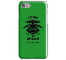 Team Green iPhone Case/Skin