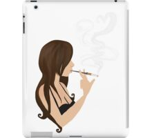 I'm breathing in the chemicals iPad Case/Skin