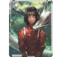 Sen and Dragon Haku  iPad Case/Skin