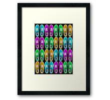 Vans - Multiple Colours (Alternate) Framed Print