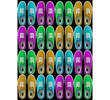 Vans - Multiple Colours (Alternate) Photographic Print