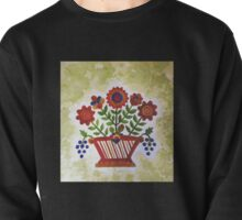 ANTIQUE FLOWER BASKET Pullover