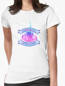 Wishes - Dream a dream Womens Fitted T-Shirt