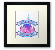 Wishes - Dream a dream Framed Print