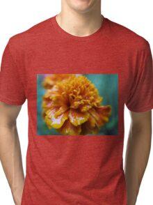 Rainy marigolds HFPHOT51  Tri-blend T-Shirt