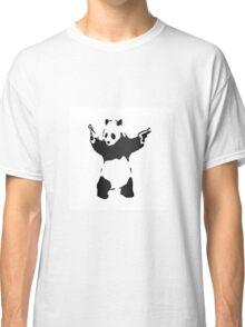 Panda with guns fresh design Classic T-Shirt
