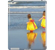 flower girls iPad Case/Skin