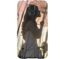 Bride at sunset Samsung Galaxy Case/Skin