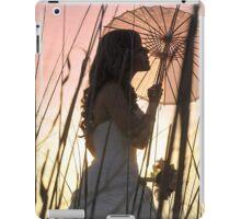 Bride at sunset iPad Case/Skin