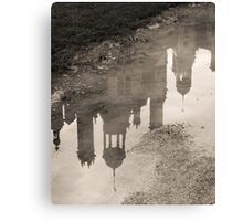 Chambord reflections in the rain Canvas Print