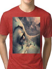 nature, landscape , beauty Tri-blend T-Shirt