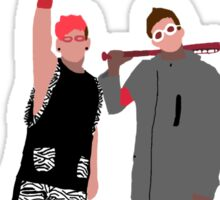 Josh Dun and Tyler Joseph BlurryFace Outfit Sticker