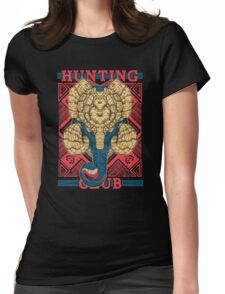 Hunting Club: Gammoth  Womens Fitted T-Shirt