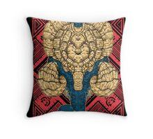 Hunting Club: Gammoth  Throw Pillow