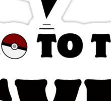Pokemon Go - Gym Sticker