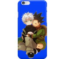 the cuddles hunter x hunter chibi design  iPhone Case/Skin