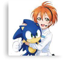 Rin Hoshizora SEGA Sonic the Hedgehog Canvas Print